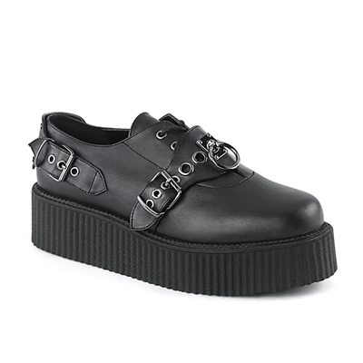 V-CREEPER-508 Buckled Creeper Shoes