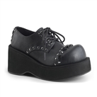 DANK-110 Studded Lace-up Platform Shoes