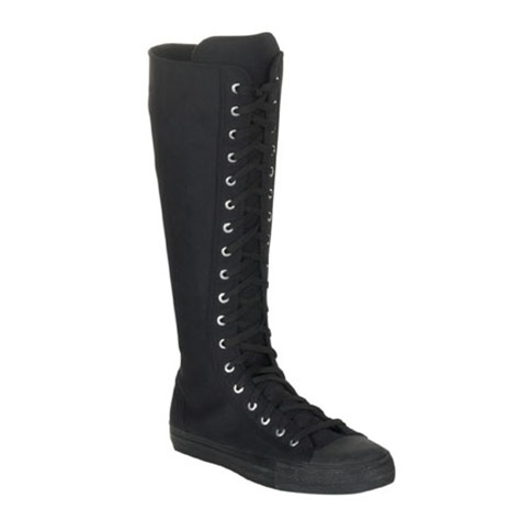Gothic Sneaker Boots - Demonia Shoes
