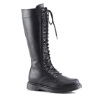 DEFIANT-400 Black 20-eye Combat Boots