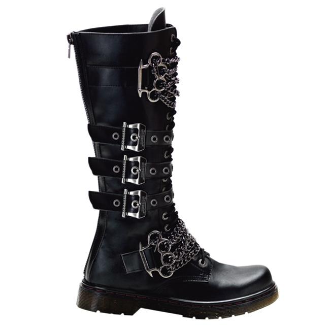 Demonia Defiant 402 Men S Gothic Combat Boots Demonia