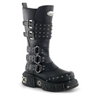 DMA-3004 Studded Gothic Buckle Boots