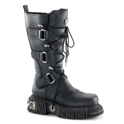 DMA-3005 Gothic Buckle Boots