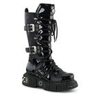 DMA-3006 Gothic Buckle Boots