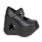 DYNAMITE-03 Wedge Heel Platform Shoes