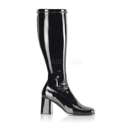 GOGO-300X Wide Width Knee Boots