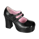 GOTHIKA-09 Skull Buckle Platform Shoes