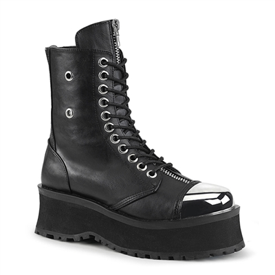 GRAVEDIGGER-10 Lace-up Ankle Boots
