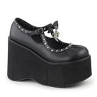 KERA-14 Studded Wedge Platform Shoes