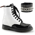 RIVAL-106 Womens 8-eye Combat Boots