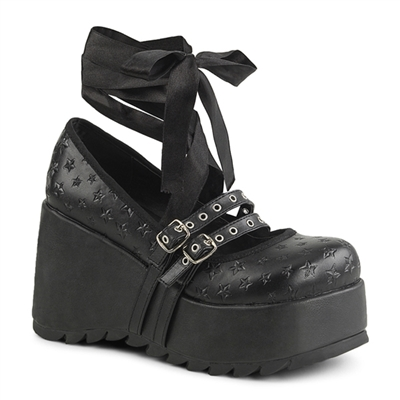 SCENE-20 Demonia Platform Mary Jane Shoes