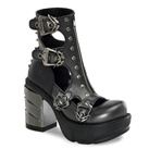 SINISTER-61 Spiked Ankle Boots