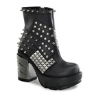 SINISTER-64 Studded Ankle Boots