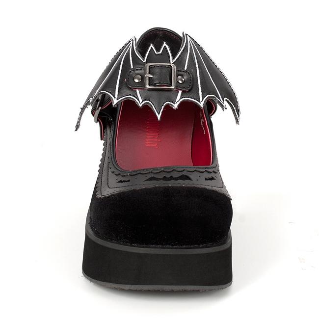 Demonia Sprite 09 Platform Mary Jane Shoes Demonia Shoes