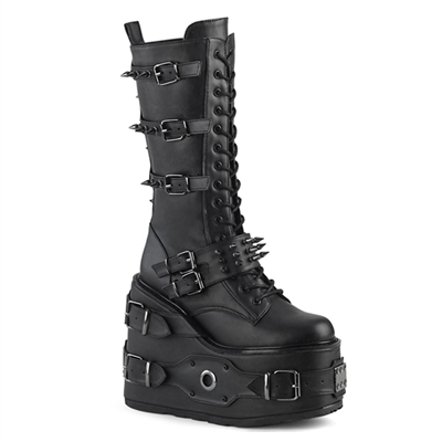 SWING-327 Spiked Strap Gothic Platform Boots