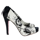 Iron Fist BONE BREAKER Platform Pumps