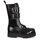 Double Sole Combat Boots by Nevermind