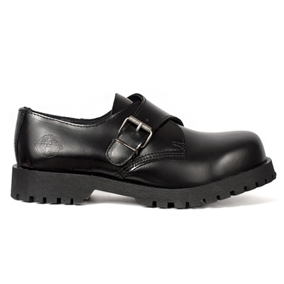 NEVERMIND Monk Strap Leather Shoes
