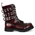 Rivet Strap Combat Boots by Nevermind