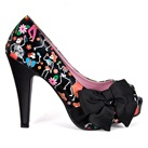 BETTIE-13 Peep Toe Pumps