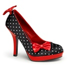 Pinup Couture SECRET-12 High Heel Polka Dot Pumps