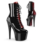 ADORE-1020FH Corset-Laced Ankle Boots