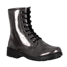 PEWTER Womens Combat Boots
