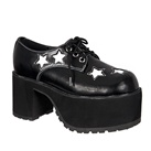 TUK Two-tone STAR Platform Shoes