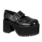 TUK Womens Mary Jane Platform Shoes