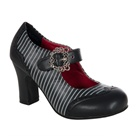 Striped Victorian Mary Jane Shoes